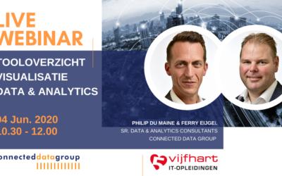 LIVE WEBINAR Tooloverzicht Visualisatie BI & Analytics (4 juni 2020 13.00-14.30 uur)