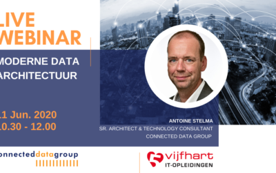 LIVE WEBINAR Moderne Data Architectuur (11 juni 2020 10.30-12.00 uur)