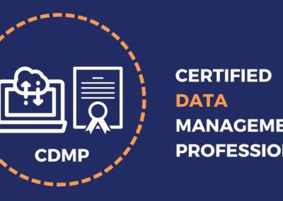Certified Data Management Professional (CDMP) – DAMA DMBoK2